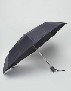 Зонт с принтом Fulton Hoxton - Черный