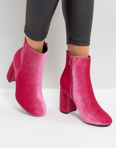 Ботильоны на каблуке Truffle Collection - Розовый