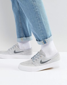 Серые кроссовки Nike SB Zoom Janoski HT 854321-006 - Серый
