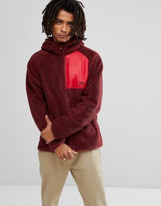 Красная куртка с капюшоном из искусственной цигейки Nike SB Everett 862745-619 - Красный