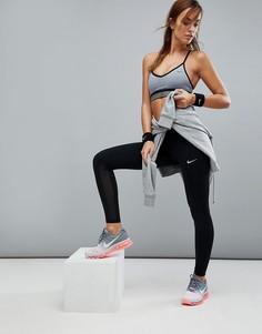 Черные укороченные леггинсы Nike Running Power Epic Run - Черный