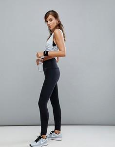 Черные леггинсы с завышенной талией Nike Training - Черный