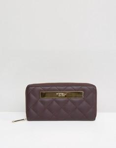 Стеганый кошелек на молнии Fiorelli - Фиолетовый