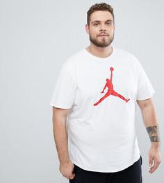 Белая футболка с логотипом Nike Jordan PLUS 908017-100 - Белый