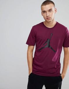 Фиолетовая футболка с большим логотипом Nike Jordan 908017-609 - Фиолетовый