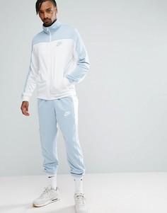 Синий спортивный костюм Nike Polyknit 861774-401 - Синий