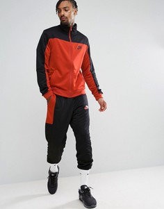Черный спортивный костюм в стиле ретро Nike 861774-011 - Черный