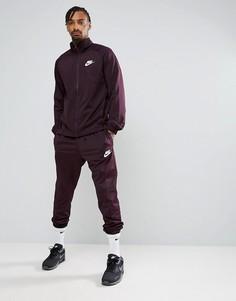Фиолетовый спортивный костюм Nike Polyknit 861780-652 - Фиолетовый