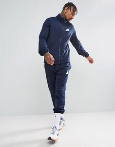 Темно-синий спортивный костюм Nike 861780-451 - Темно-синий