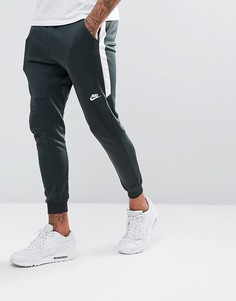 Зеленые джоггеры Nike Tribute 884898-332 - Зеленый
