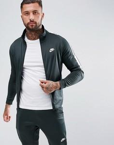 Зеленая спортивная куртка Nike Tribute 861648-332 - Зеленый