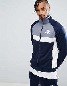 Темно-синяя спортивная куртка Nike Archive 941847-451 - Темно-синий