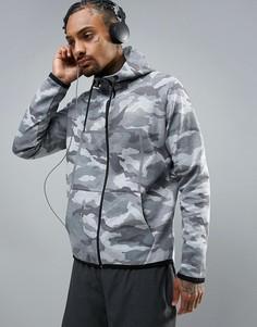 Куртка с камуфляжным принтом Ki5-A - Серый