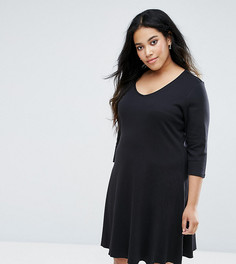 Свободное платье Junarose - Черный