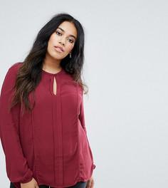 Блузка с вырезом капелькой Junarose - Красный