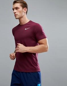 Красная футболка Nike Running 833580-609 - Красный