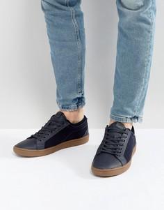Темно-синие кеды на шнуровке ALDO Sigrun - Темно-синий