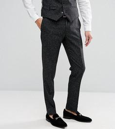 Зауженные брюки в крапинку Noak - Черный