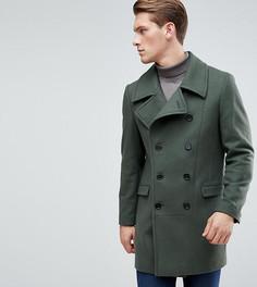 Пальто в стиле милитари Heart & Dagger - Зеленый