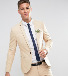 Светло-бежевый пиджак скинни Noak Wedding - Светло-бежевый