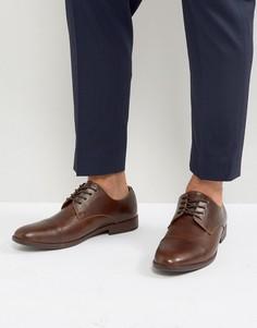 Коричневые туфли со вставкой на носке Call It Spring Huttner - Коричневый