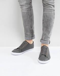 Серые кеды на шнуровке ASOS - Серый