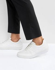 Белые кроссовки на толстой подошве ASOS - Белый