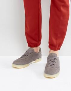 Серые кроссовки из искусственной замши ASOS - Серый