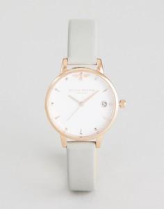 Часы с кожаным ремешком Olivia Burton OB16AM126 - Серый