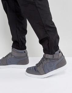 Серые кроссовки Nike Air Jordan 1 Retro 342132-005 - Серый