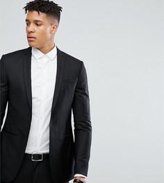 Черный супероблегающий пиджак Noak TALL - Черный