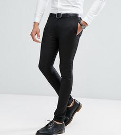Черные супероблегающие брюки Noak TALL - Черный