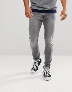 Выбеленные серые джинсы скинни Nudie Jeans Co Lin - Серый