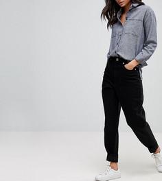 Выбеленные черные джинсы с широкими штанинами ASOS TALL - Синий