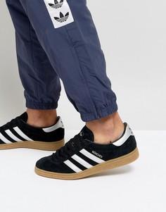 Черные кроссовки adidas Originals Munchen BY9790 - Черный
