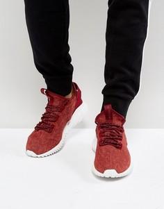 Красные кроссовки adidas Originals Tubular Doom Primeknit BY3560 - Красный