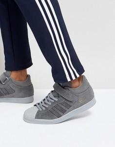 Серые кроссовки adidas Originals Superstar BZ0210 - Серый