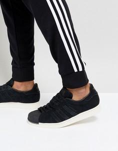 Черные кроссовки adidas Originals Superstar BZ0201 - Черный