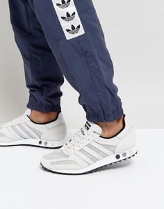 Серые кроссовки adidas Originals LA BY9327 - Серый