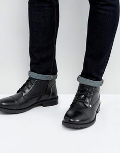 Черные ботинки со шнуровкой Original Penguin Dalson - Черный
