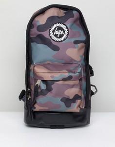 Рюкзак с камуфляжным принтом Hype - Зеленый