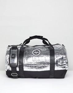 Серебристая сумка Hype - Серый