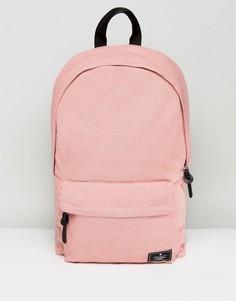 Розовый парусиновый рюкзак ASOS - Розовый