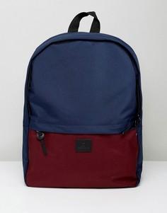 Рюкзак (бордовый/темно-синий) ASOS - Красный