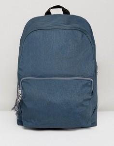Сине-зеленый меланжевый рюкзак с молниями ASOS - Синий