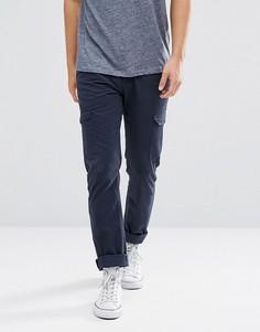 Прямые брюки-карго Bellfield - Темно-синий