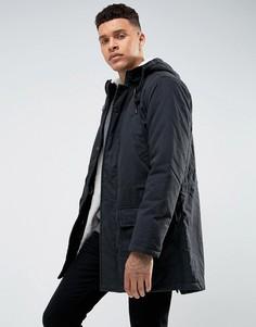 Куртка с подкладкой из искусственного меха Tokyo Laundry - Черный