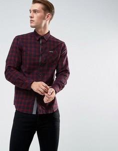 Фланелевая рубашка в клетку Tokyo Laundry - Красный