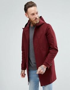 Бордовая непромокаемая куртка ASOS - Красный