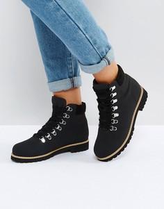 Походные ботинки ASOS ADRIANA - Черный